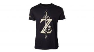 חולצה שחורה עם האות Z ממשחקי זלדה