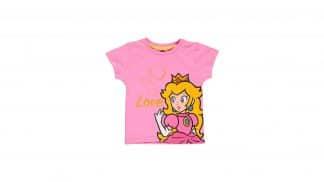 חולצה (ילדות) - הנסיכה פיץ' - ורוד