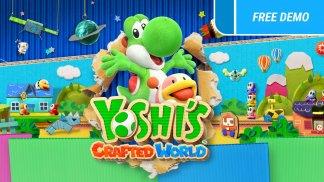 משחק Yoshi's Crafted World