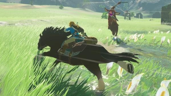 צילום מסך 1 למשחק: The Legend of Zelda: Breath of the Wild שלב מד הסיבולת