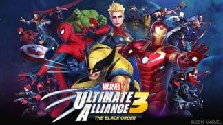 משחק Marvel Ultimate Alliance 3: The Black Order לנינטנדו סוויץ'
