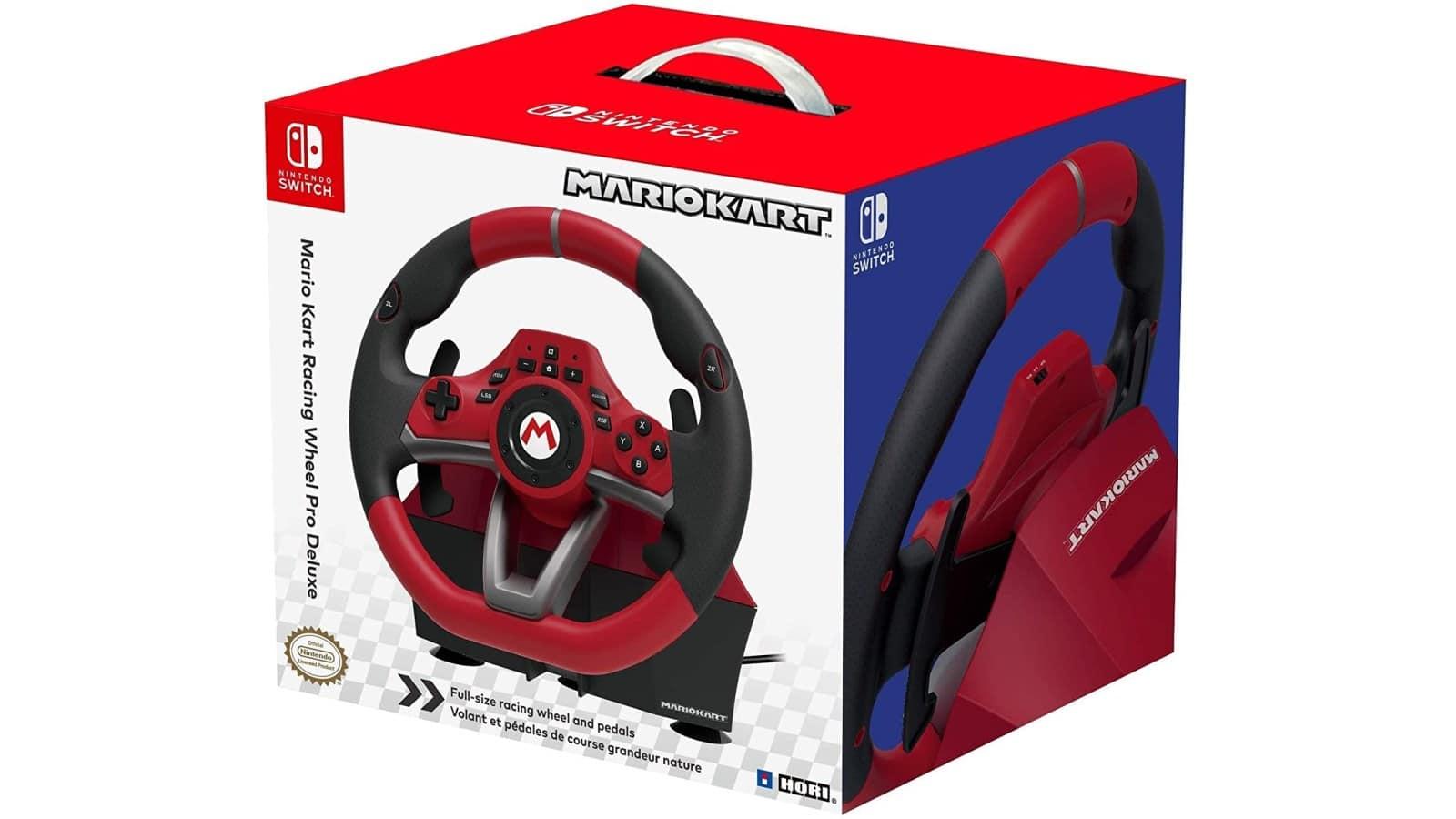 הגה ודוושות Mario Kart Racing Wheel Pro Deluxe