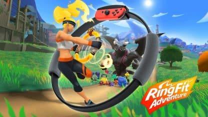 משחק Ring Fit Adventure לקונסולת נינטנדו סוויץ'