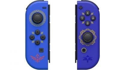 בקרי ג'וי-קון בעיצוב The Legend of Zelda: Skyward Sword HD - ללא סטראפ