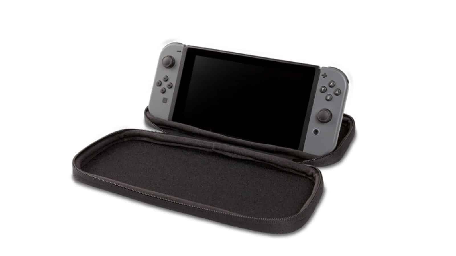 נרתיק נשיאה לנינטנדו סוויץ' בעיצוב לינק ממשחקי The Legend of Zelda - קונסולה עומדת 1