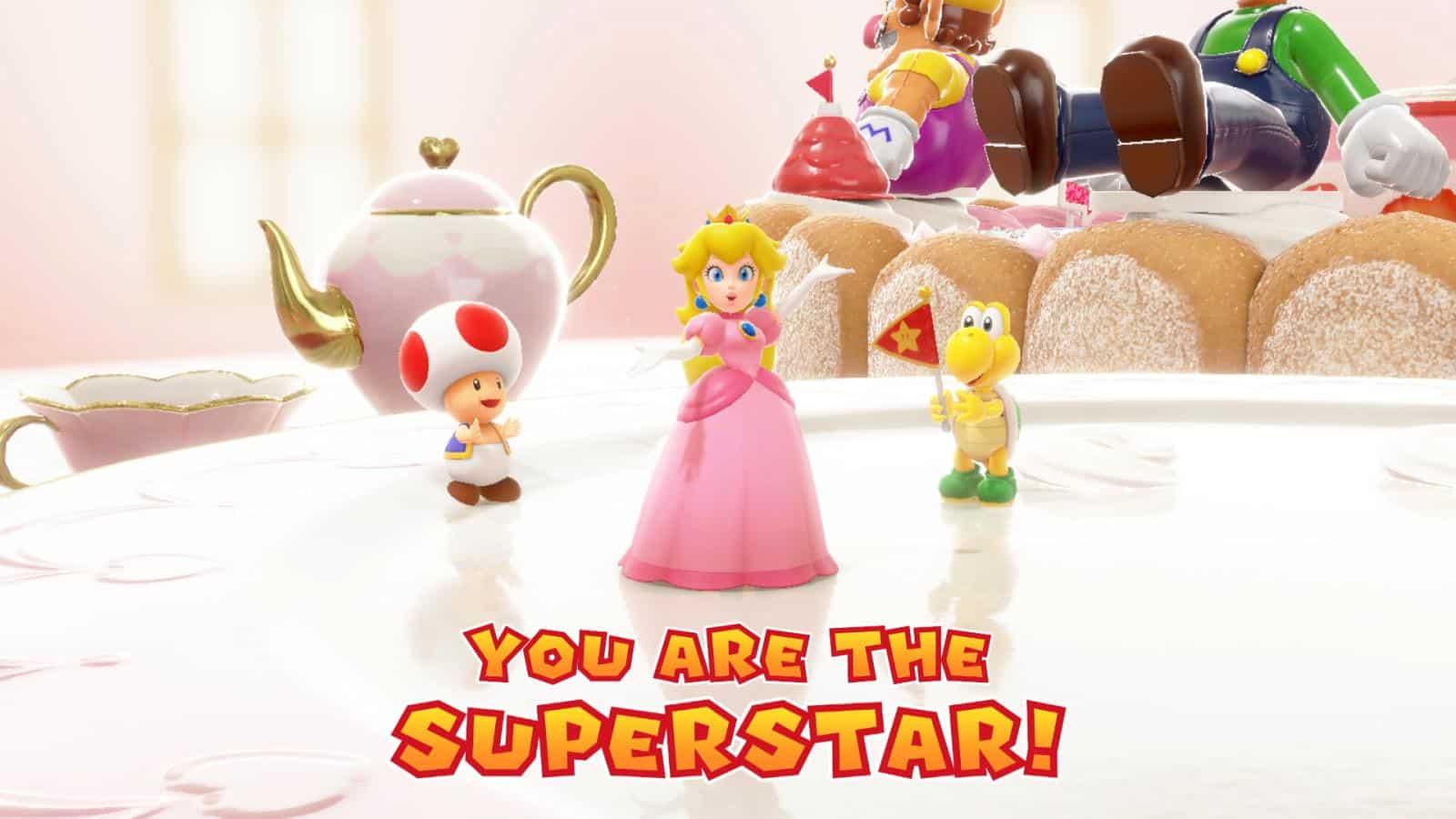 צילום מסך 3 למשחק: Mario Party Superstars לקונסולת נינטנדו סוויץ' פיץ' יושי וקפטן טוד