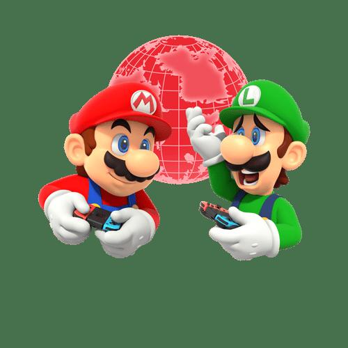 Mario & Luigi playing online