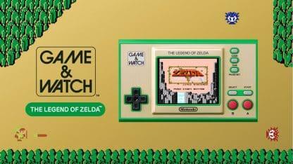 מהדורת אספנות של קונסולת Game & Watch עם קלאסיקות מסדרת The Legend of Zelda
