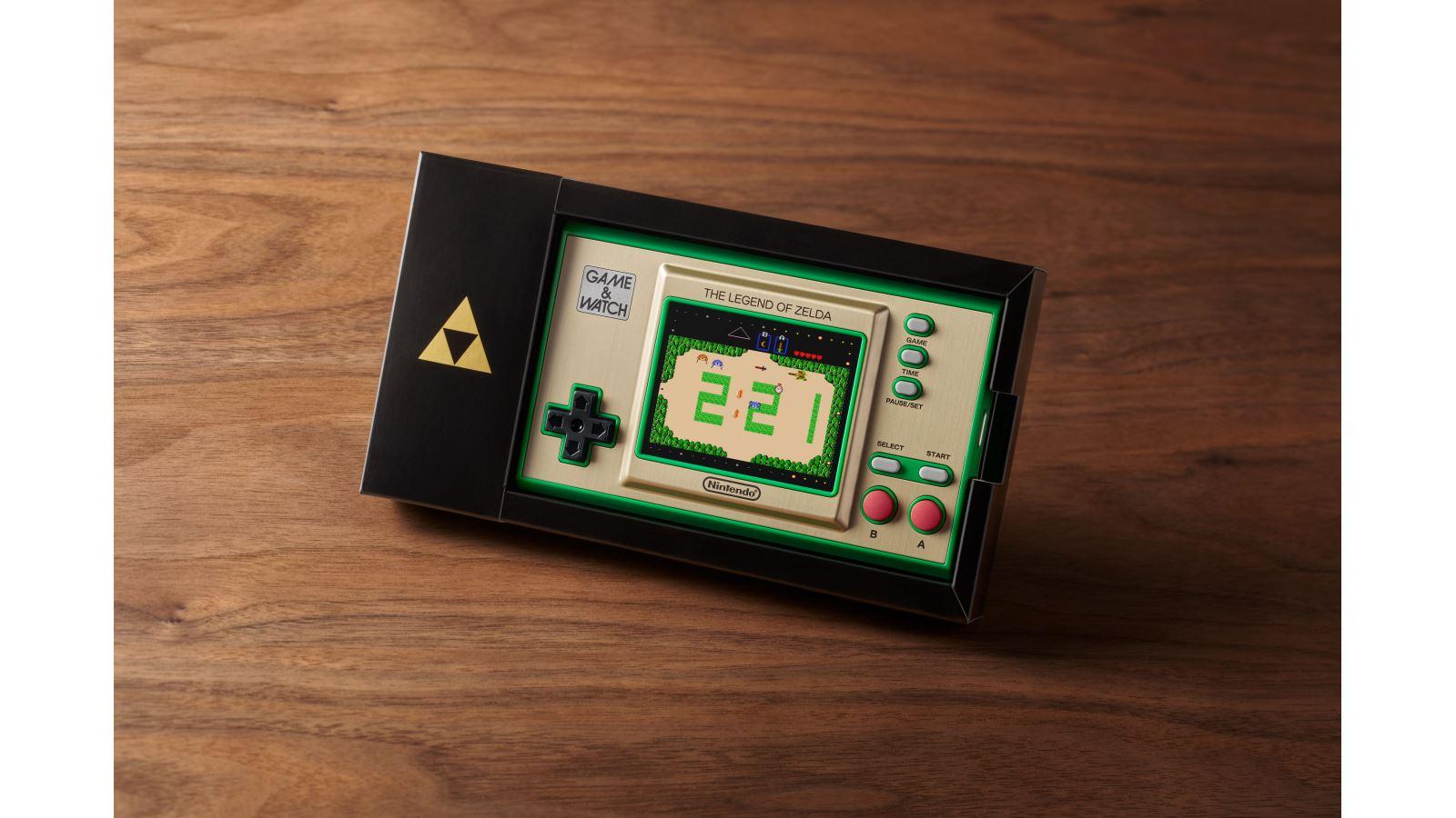 קונסולת Game & Watch עם קלאסיקות מסדרת The Legend of Zelda