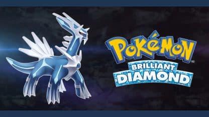 משחק Pokémon Brilliant Diamond לנינטנדו סוויץ' - הפוקימון האגדי דיאלגה