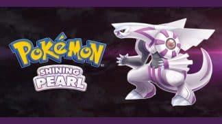 משחק Pokémon Shining Pearl לנינטנדו סוויץ' - הפוקימון האגדי פאלקיה
