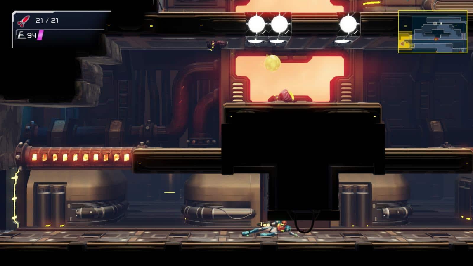 צילום מסך 2 למשחק: Metroid Dread לקונסולת נינטנדו סוויץ'
