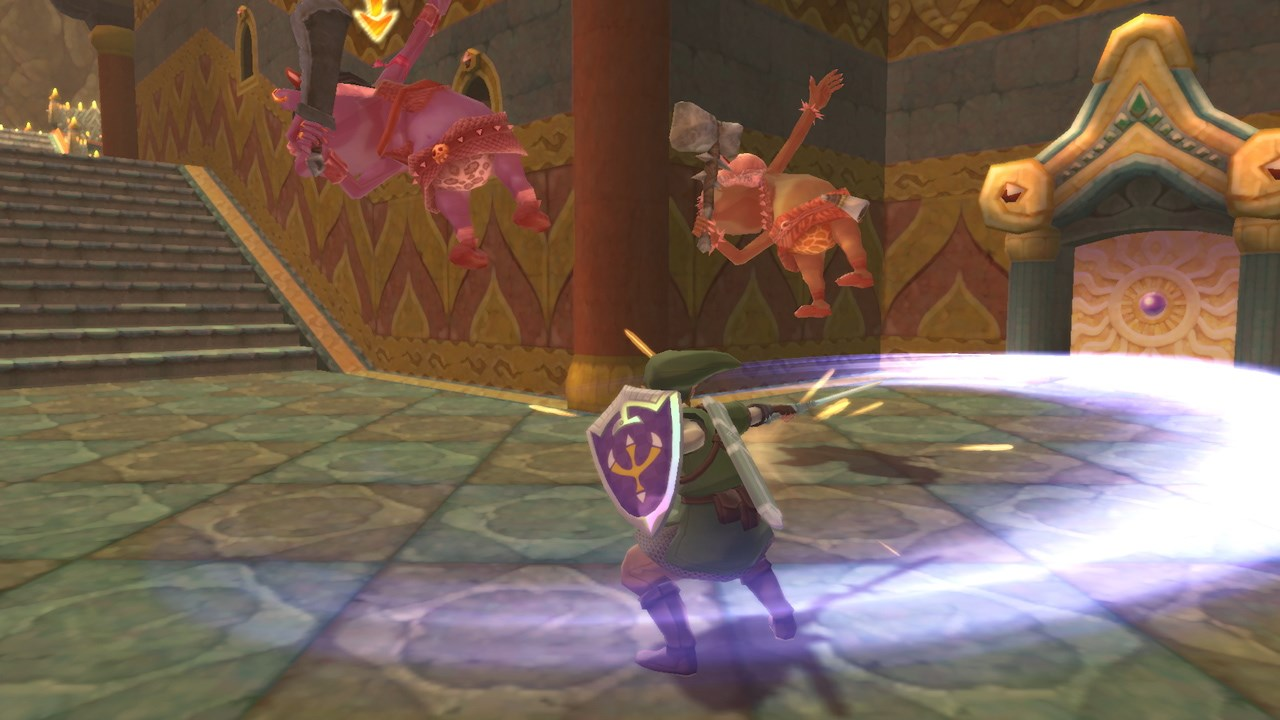 The Legend of Zelda: Skyward Sword HD לנינטנדו סוויץ' - סקרינשוט 2