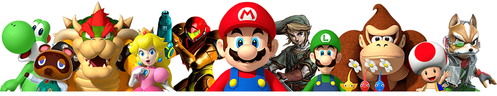 Nintendo Group Picture