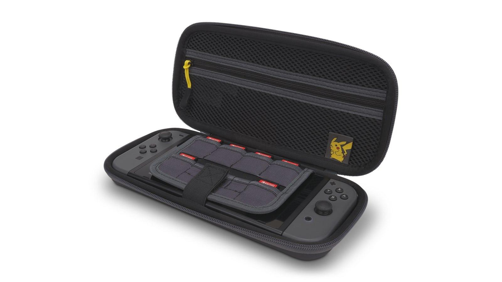 Protection-Case-Pikachu-025 פתוח עם נינטנדו סוויץ' אפור