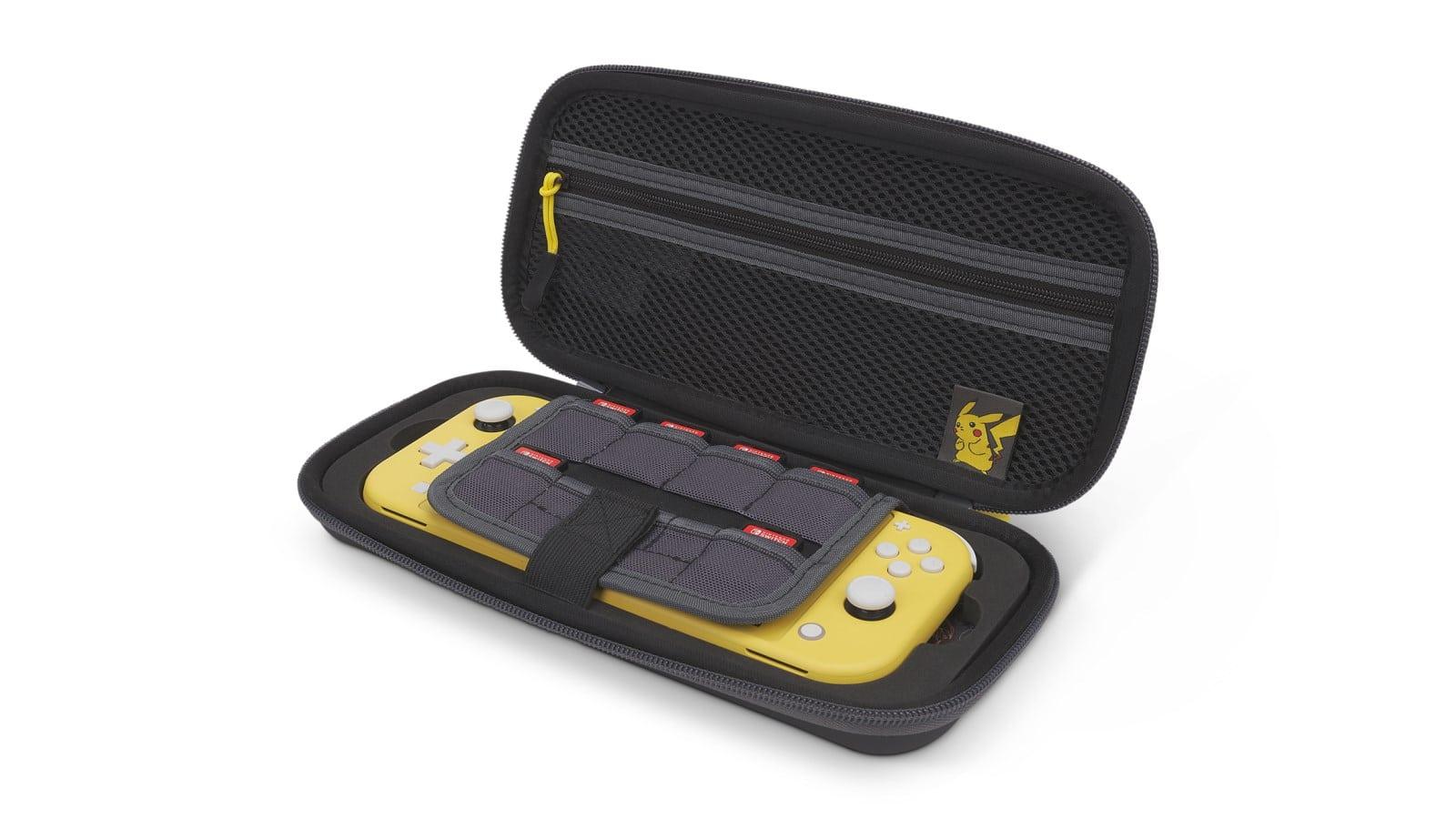 Protection-Case-Pikachu-025 פתוח עם נינטנדו סוויץ' צהוב