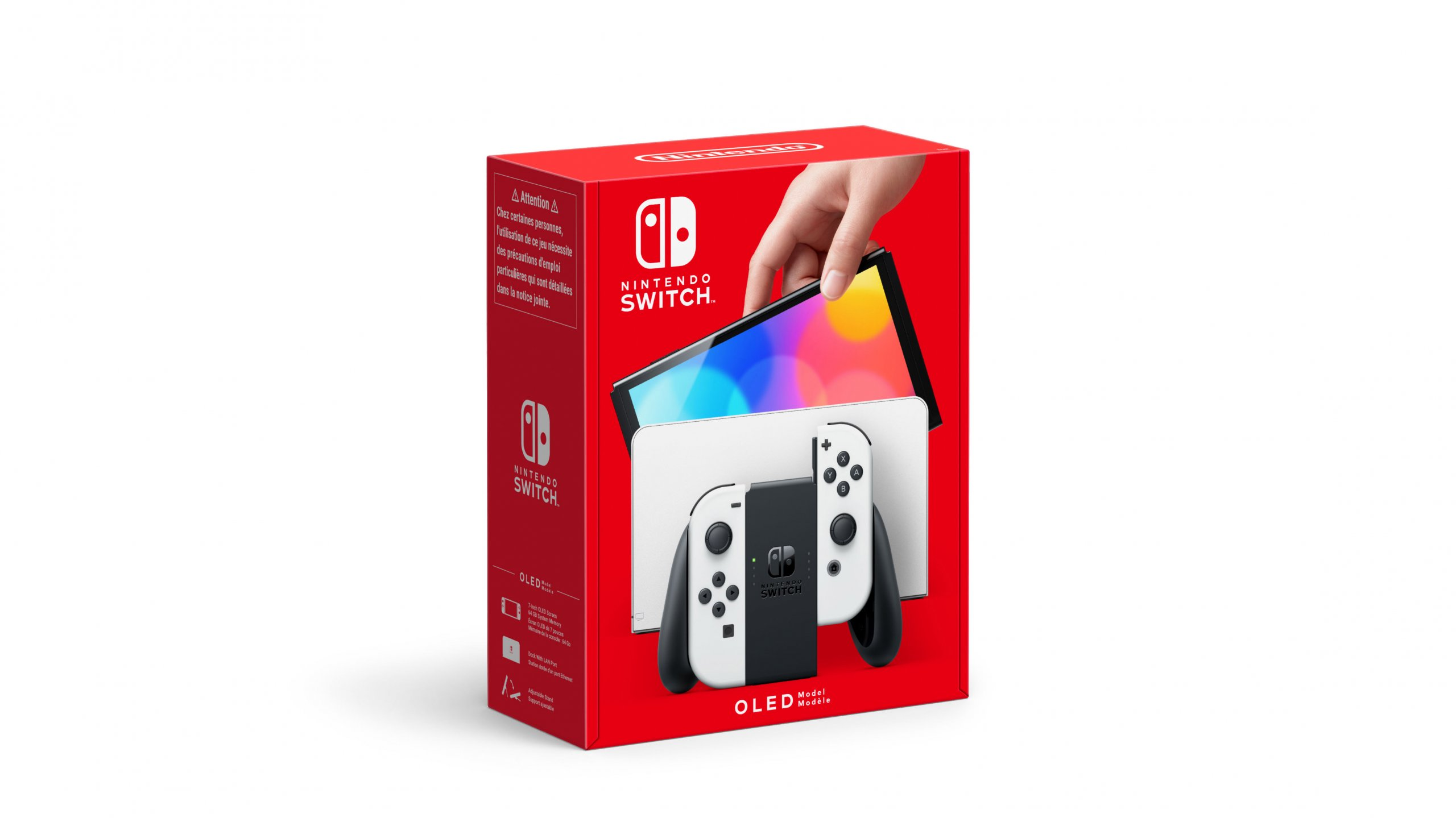 אריזה של Nintendo Switch OLED