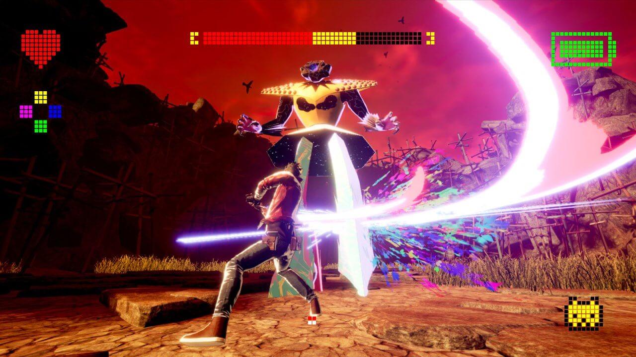 צילום מסך 2 למשחק: No More Heroes III לקונסולת נינטנדו סוויץ' הדמויות בקרב