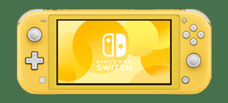 Nintendo Switch Lite בצבע צהוב