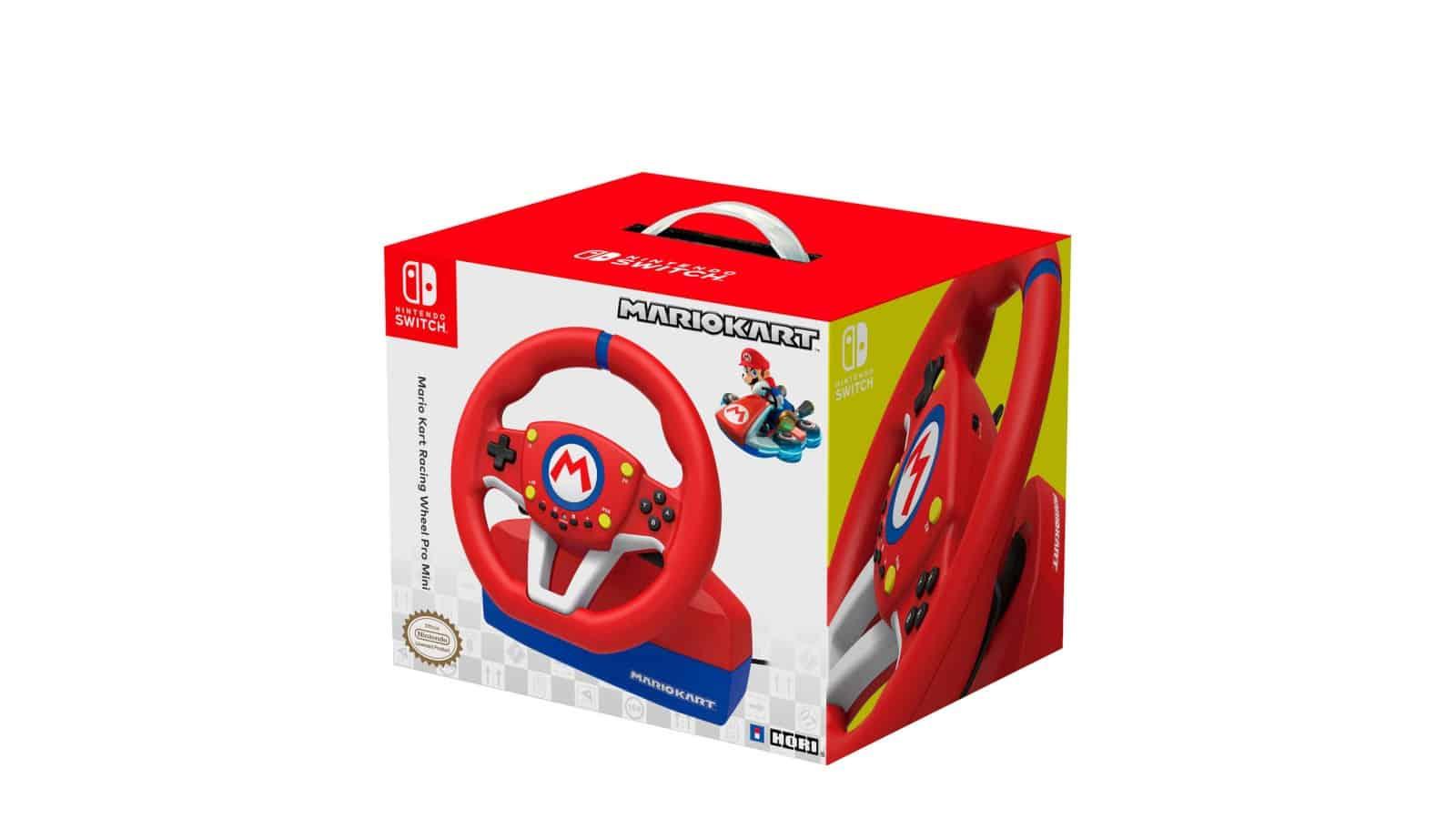 הגה ודוושות Mario Kart Racing Wheel Pro Mini