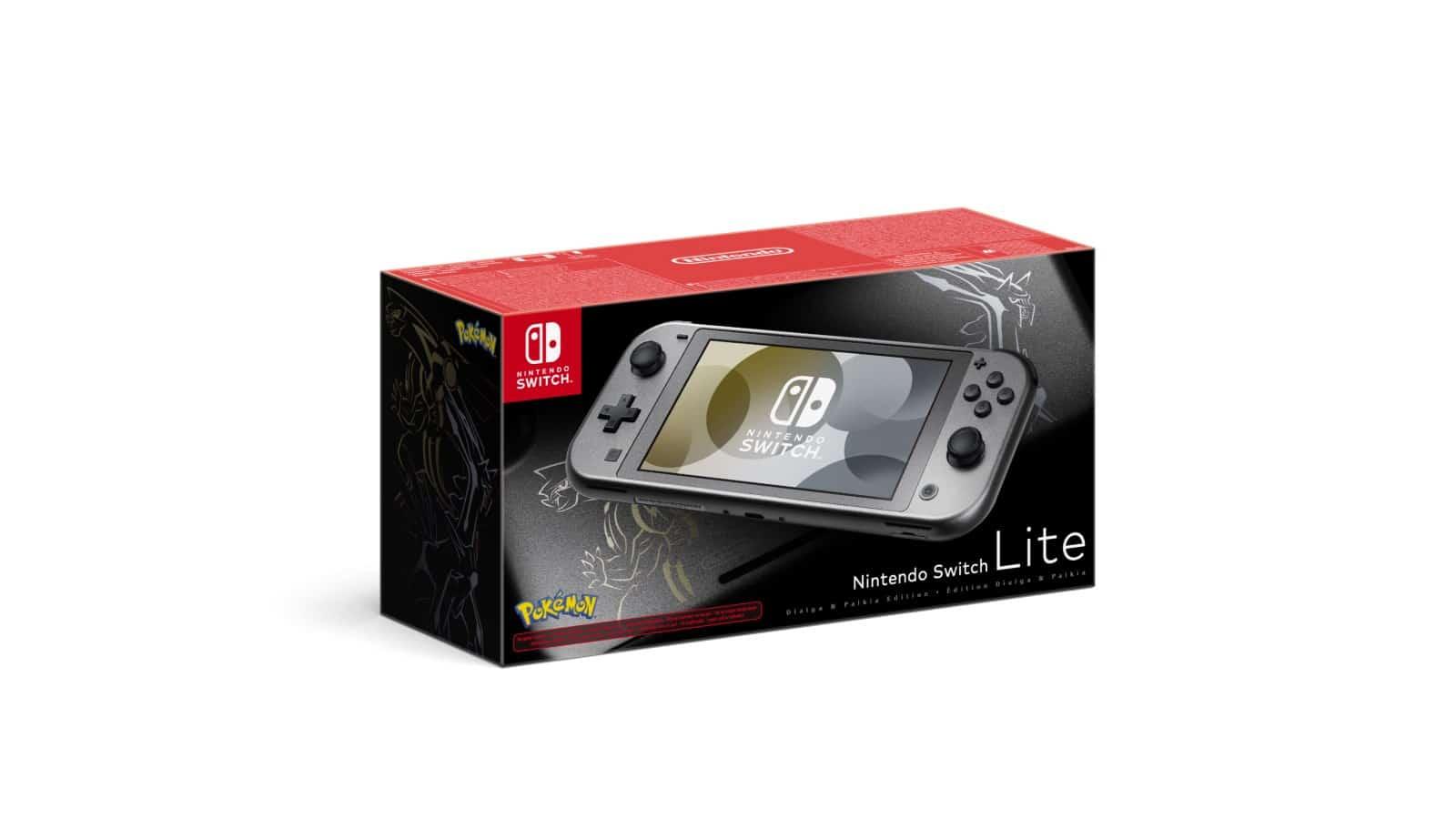 Nintendo Switch Lite - Dialga & Palkia Edition