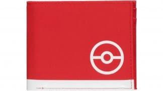 ארנק שני-תאים בצבע אדום בעיצוב ליין מוצרי 'Technical Trainer' של סדרת פוקימון.