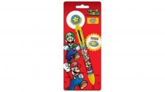 עט מחליף צבעים בעיצוב דמויות מסדרת Super Mario.