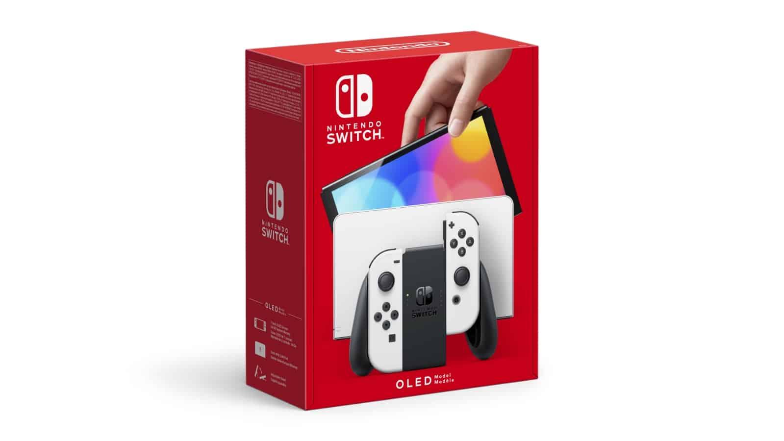 Nintendo Switch (דגם OLED) - לבן