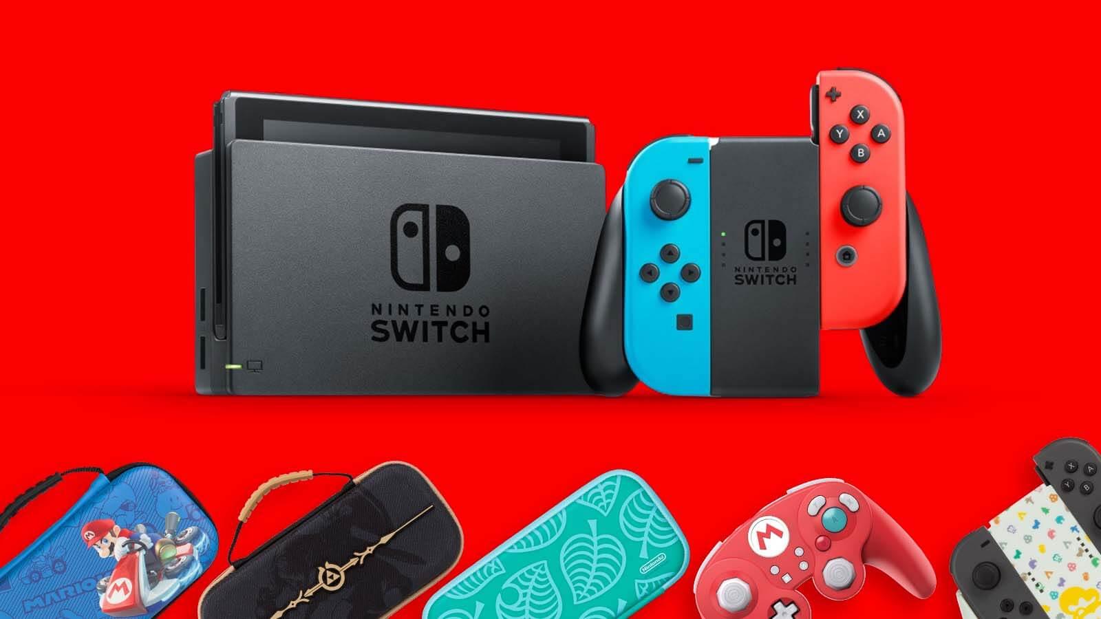 קונים Nintendo Switch ובוחרים אביזר במתנה!